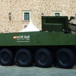 Así es el nuevo vehículo blindado del Ejército; 8x8 Dragón