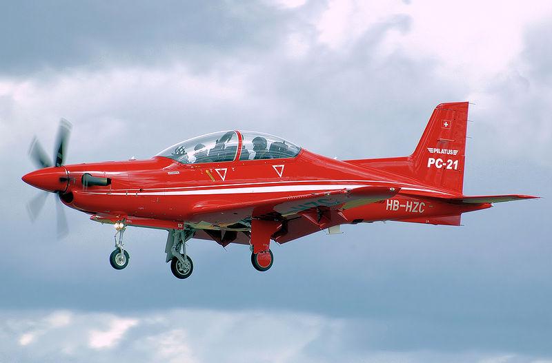Avión de entrenamiento ejercito español
